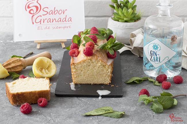 Receta para hacer Bizcocho de ginebra - Sabor Granada