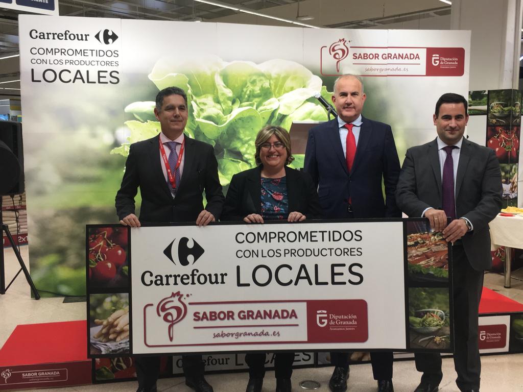 Carrefour se compromete con los productos locales de Sabor Granada