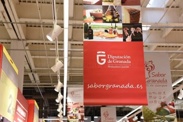 Carrefour Granada acoge una nueva promoción de Sabor Granada con 33 empresas