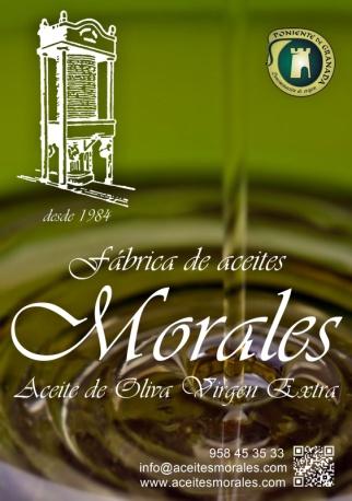 Logotipo Fábrica de aceites Morales - Sabor Granada