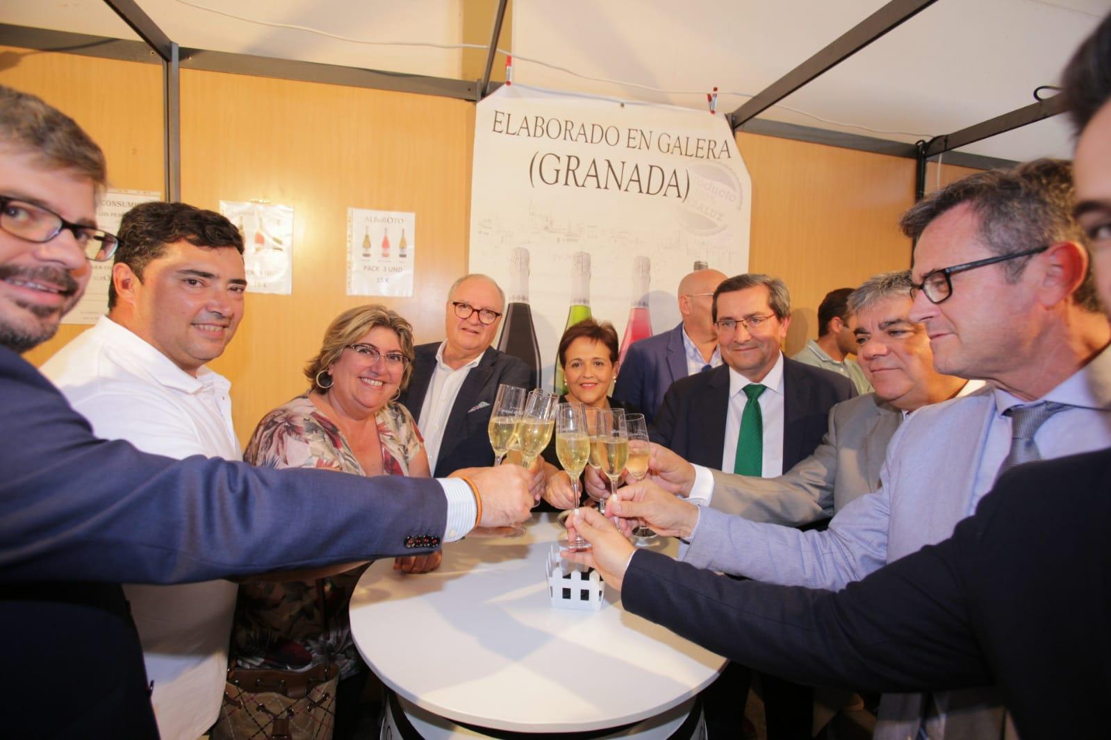 Brindis en Feria Agroganadera de Huéscar 2019 - Sabor Granada