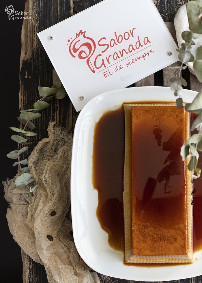 Cómo hacer Flan de ron café - Sabor Granada