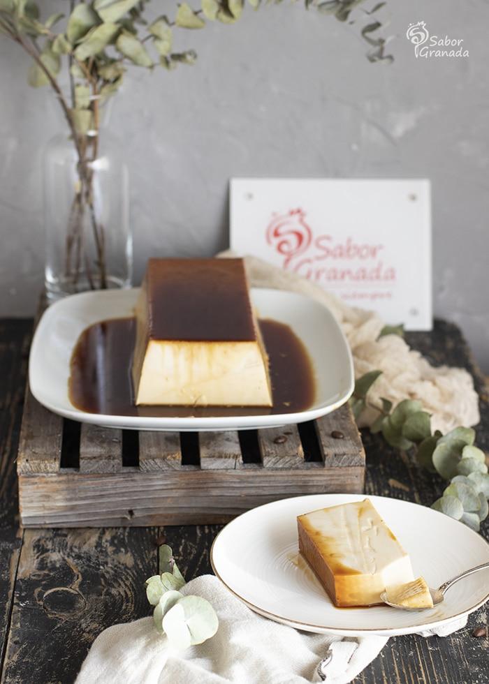 Flan de ron café  - Sabor Granada