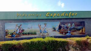 Exteriores de Industrias Espadafor - Sabor Granada