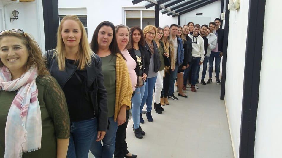 personas contratadas tras realización del curso - Sabor Granada