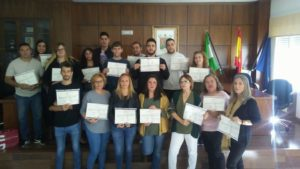 Entrega diplomas Curso - Sabor Granada