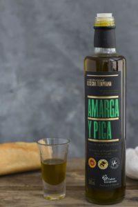 AOVE Amarga y Pica - Sabor Granada