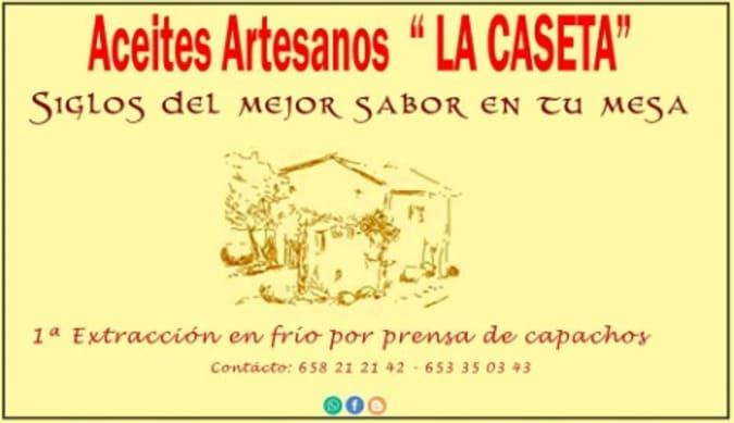 Logo Aceites Artesanos La Caseta - Sabor Granada