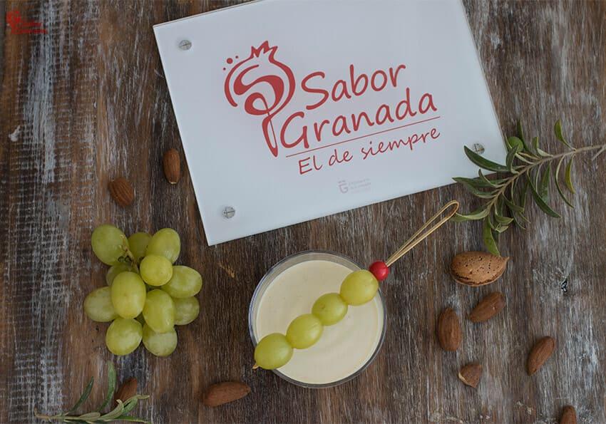 Receta de Ajoblanco - Sabor Granada