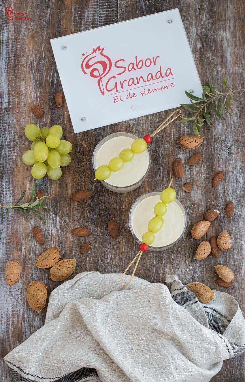 Presentación del ajoblanco - Sabor Granada