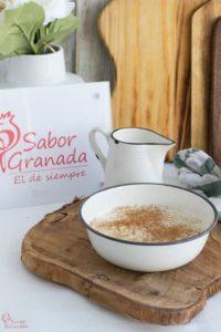 Arroz con leche - Sabor Granada