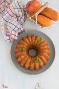 Cómo hacer bizcocho de mango - Sabor Granada
