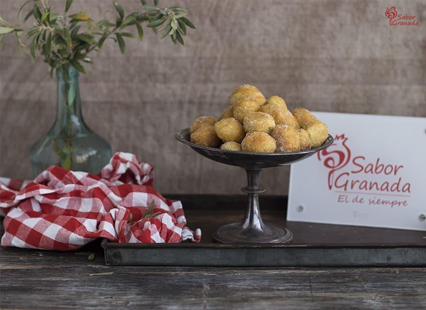 Cómo elaborar esta receta de buñuelos al viento - Sabor Granada