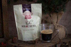 Café Sol y Crema para elaborar esta tarta de turrón y café - Sabor Granada