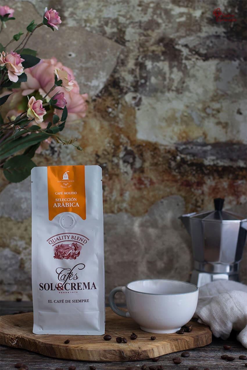 Café Sol y Crema para hacer tiramisú - Sabor Granada