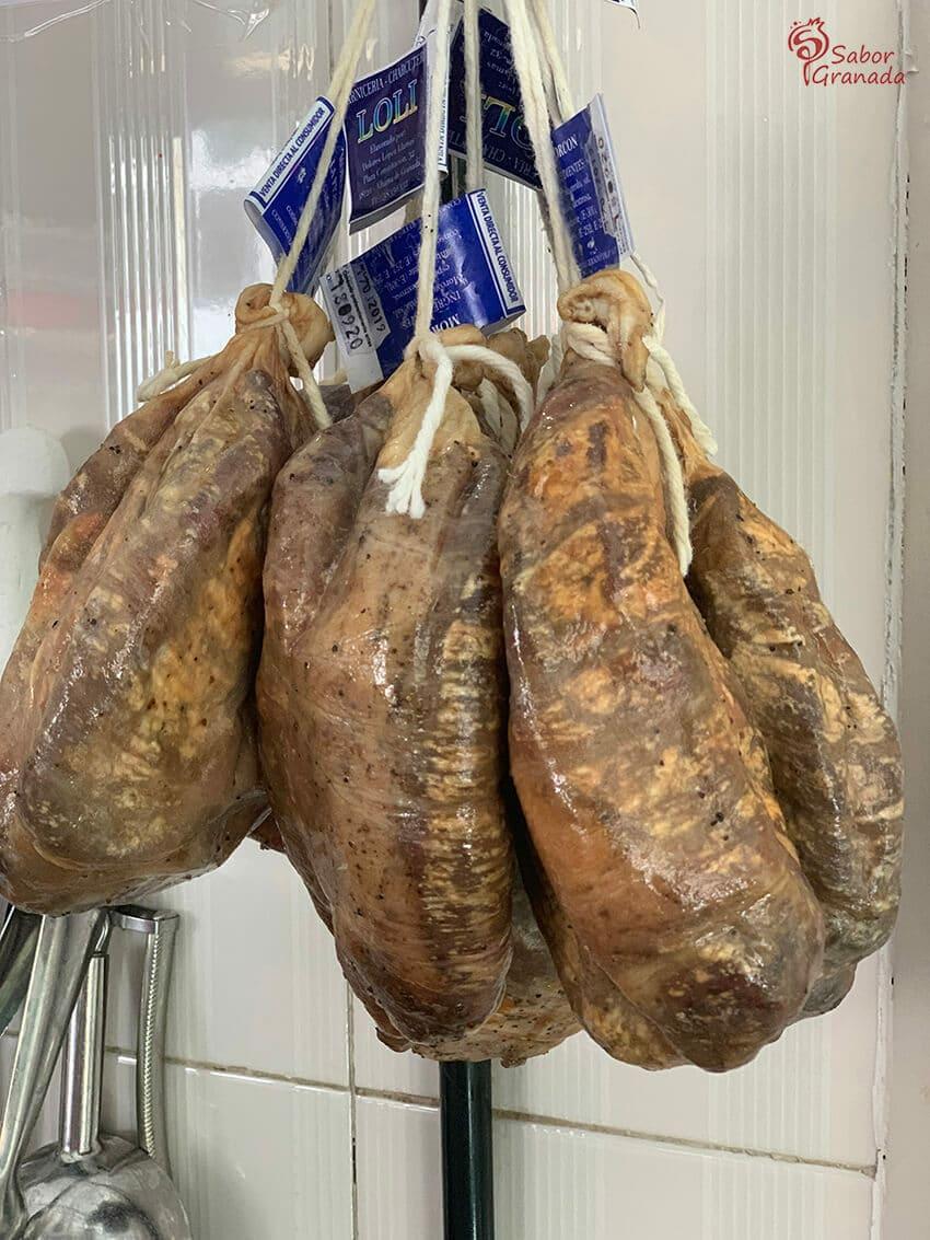 Productos de carnicería Loli - Sabor Granada