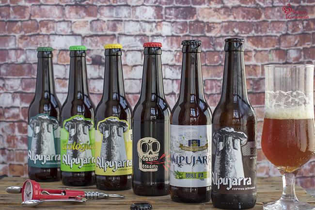 Cervezas Alpujarra - Sabor Granada
