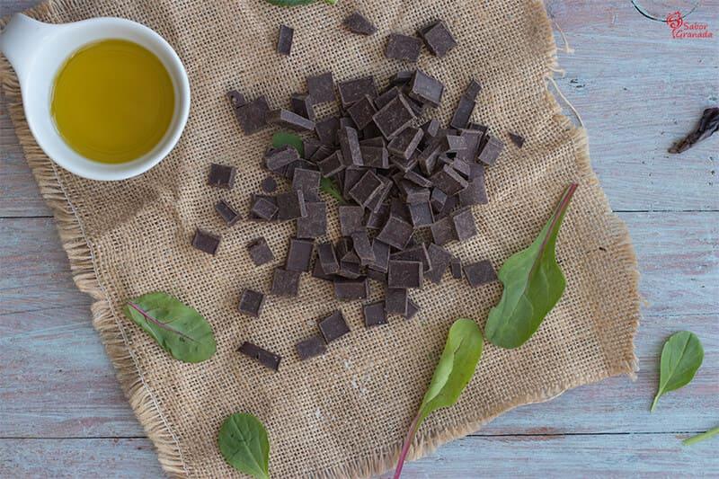 Chocolates con AOVE de Sierra Nevada - Sabor Granada