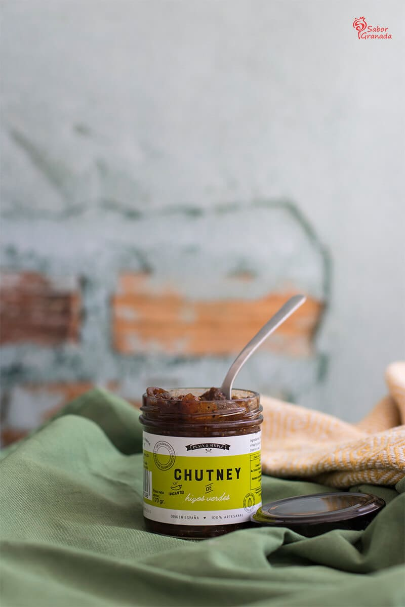 Chutney de higo de Plain and Simple - Sabor Granada