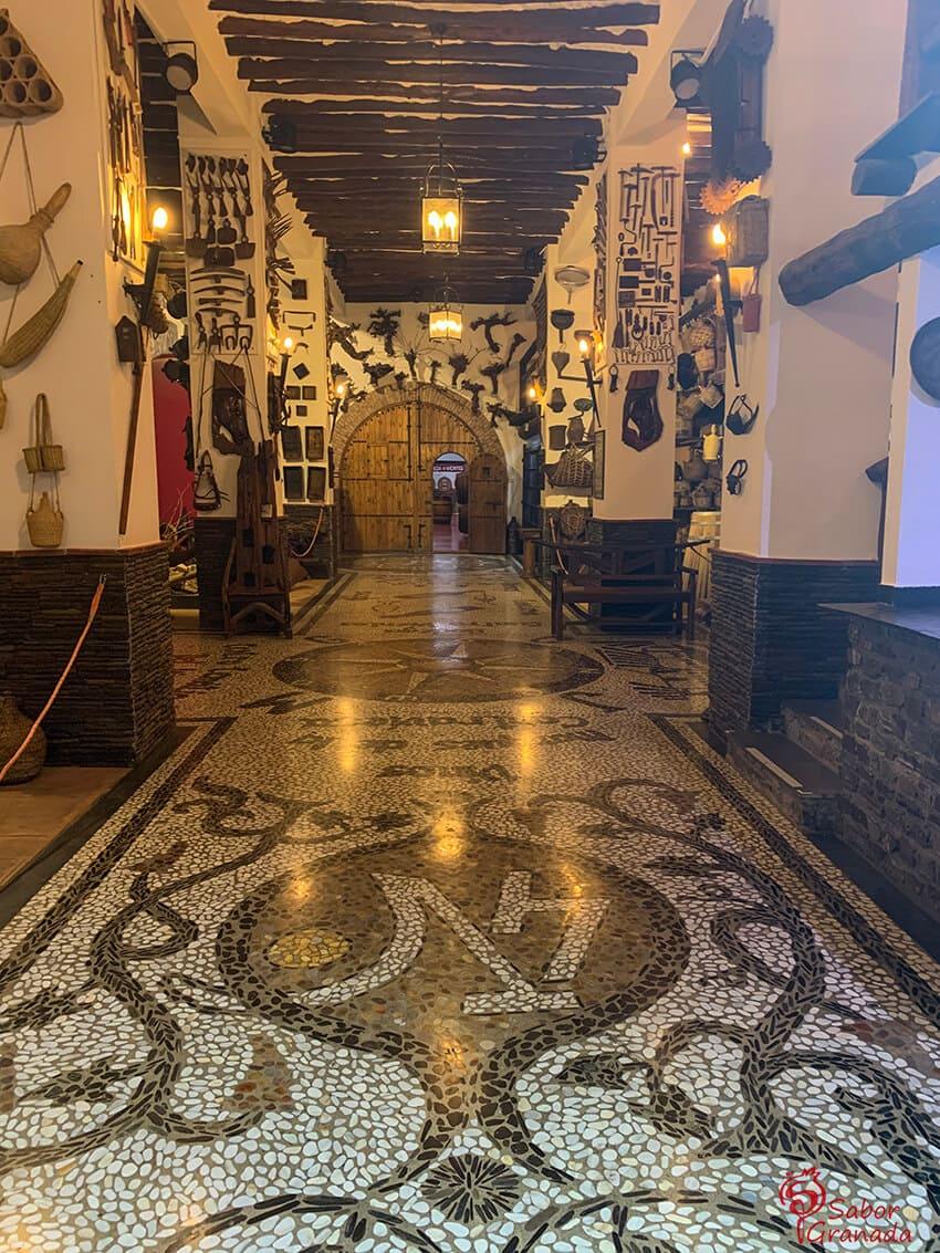 Imagen de interior de la Bodega Cuatro Vientos - Sabor Granada