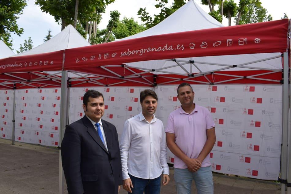 Feria de Guadix con productos Sabor Granada