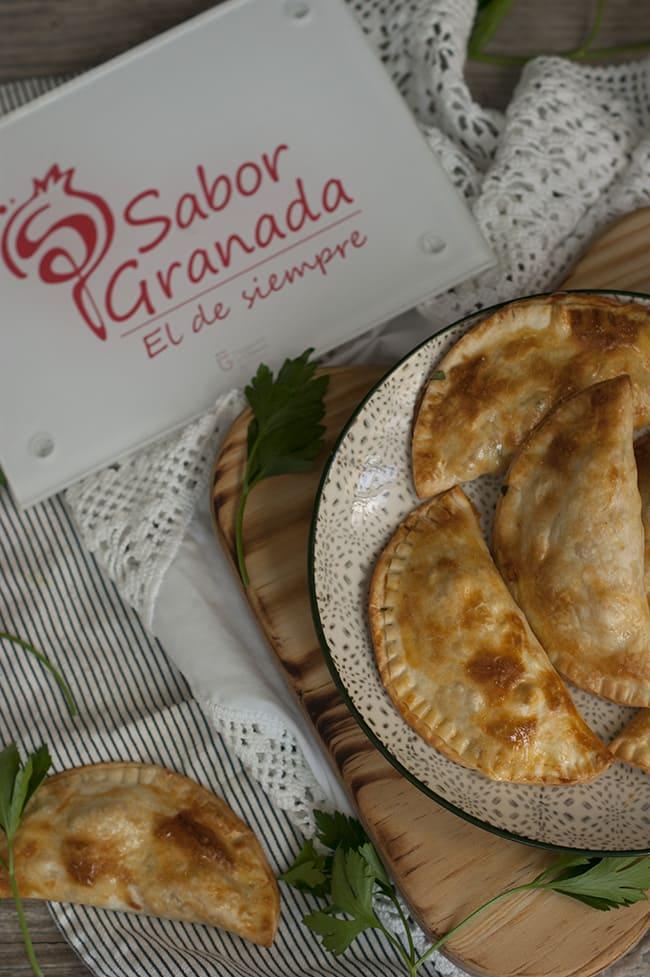 Empanadillas de gambas picantes - Sabor Granada
