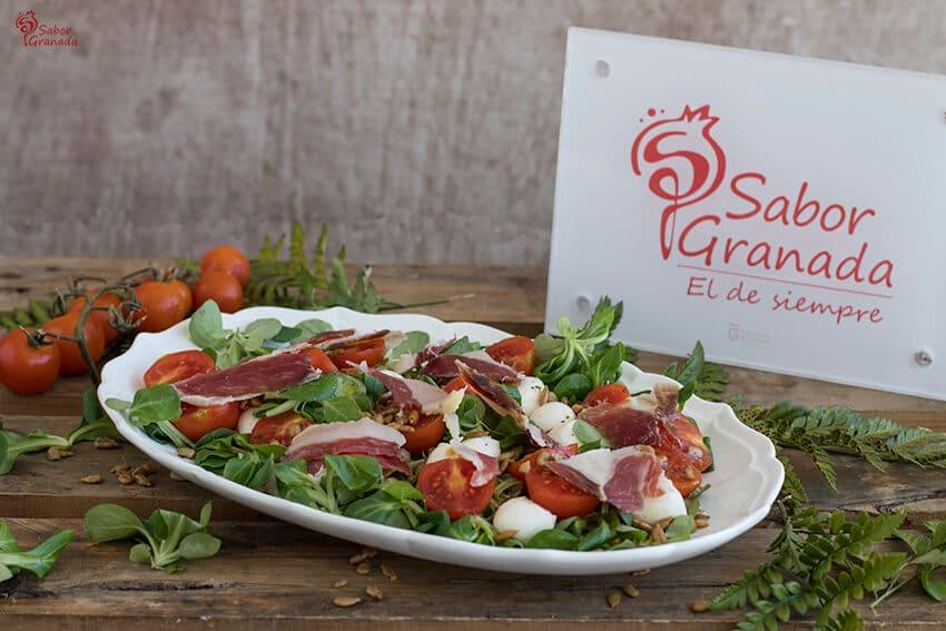 Receta de ensalada ibérica - Sabor Granada