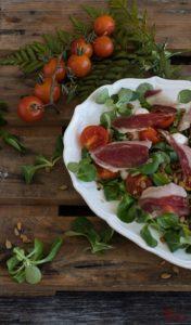 Cómo hacer una ensalada ibérica - Sabor Granada