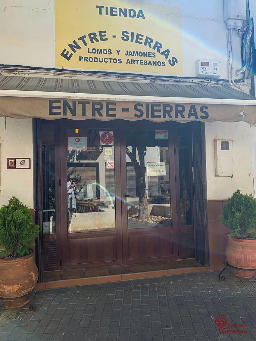 Tienda Entresierras - Sabor Granada