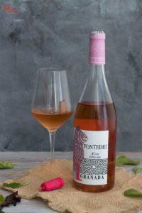 Vino rosado Aixa de Fontedei - Sabor Granada