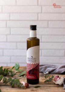 AOVE Hechizo Andaluz para elaborar la receta de migas de sémola - Sabor Granada