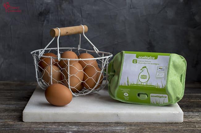 Huevos Garrido para hacer Rosquillas fritas - Sabor Granada
