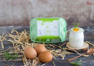 Huevos al horno con nata y romero - Sabor Granada