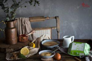 Huevos Garrido para elaborar esta receta de natillas caseras - Sabor Granada