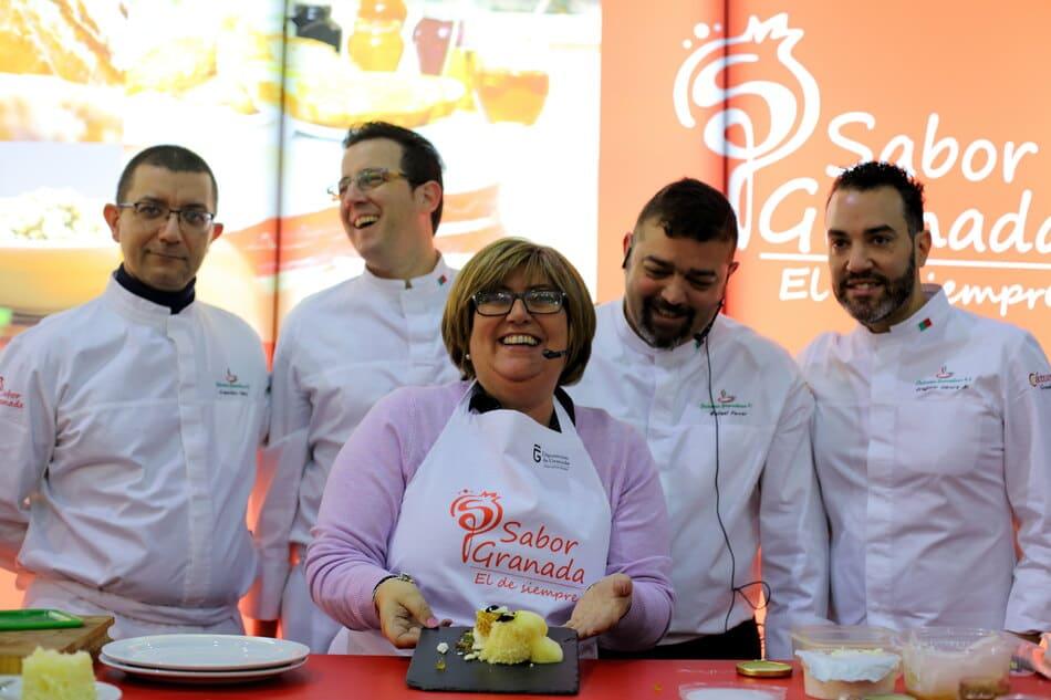 Diputada durante la Feria de Hostelería de Málaga - Sabor Granada