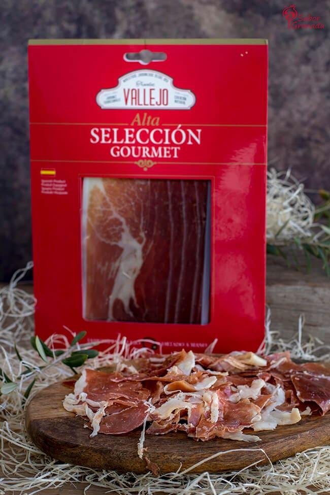 Jamón Vallejo selección gourmet - Sabor Granada