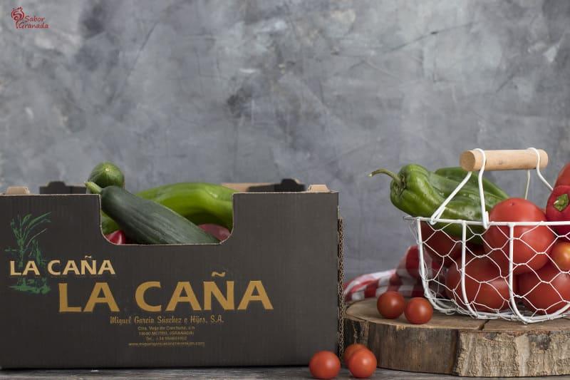 Caja de tomates La Caña - Sabor Granada