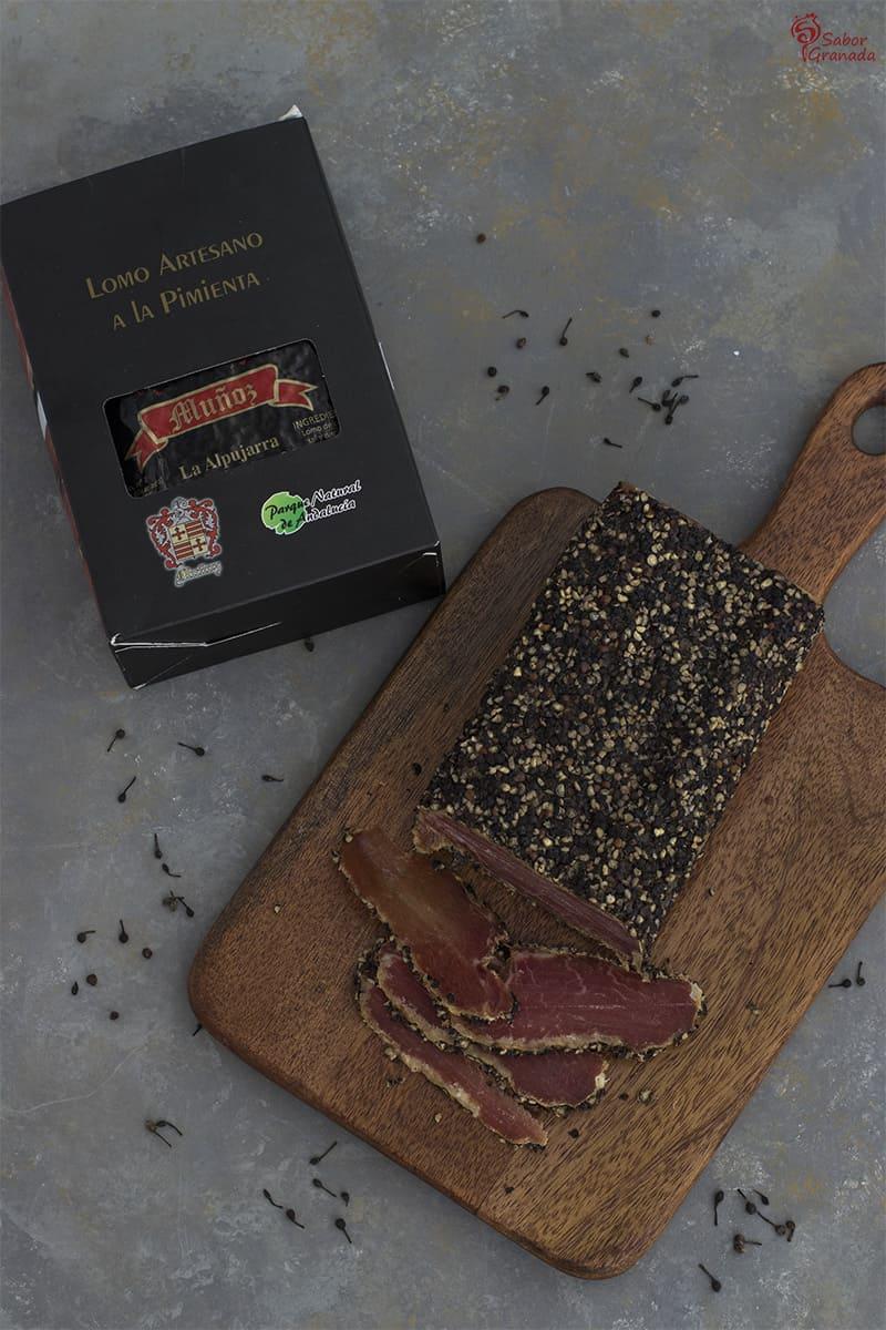 Lomo Muñoz para elaborar Pañuelos de hojaldre y espárragos de Huetor Tájar - Sabor Granada