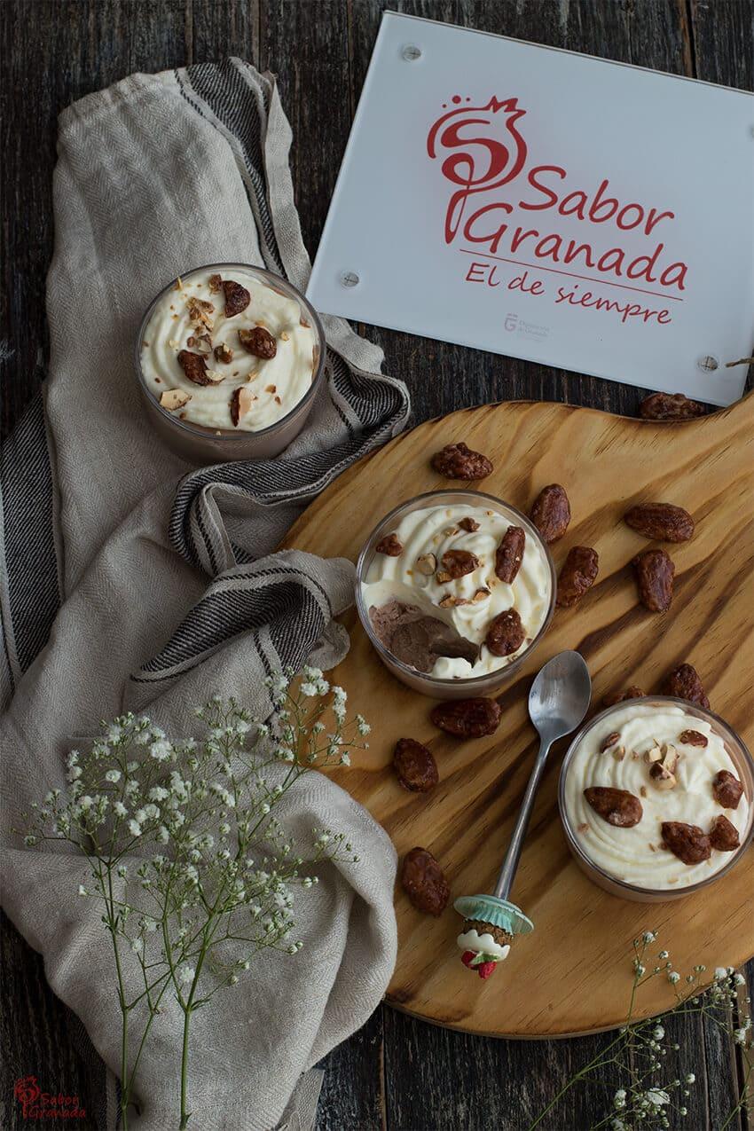 Mousse de crema de cerveza - Sabor Granada