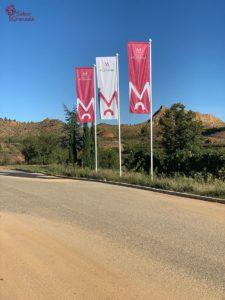 Entrada a Bodegas Muñana - Sabor Granada