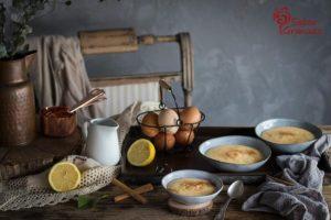 Presentación de natillas caseras - Sabor Granada