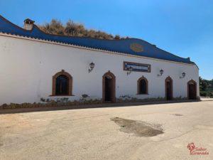Exterior de Pago de Almaraes - Sabor Granada