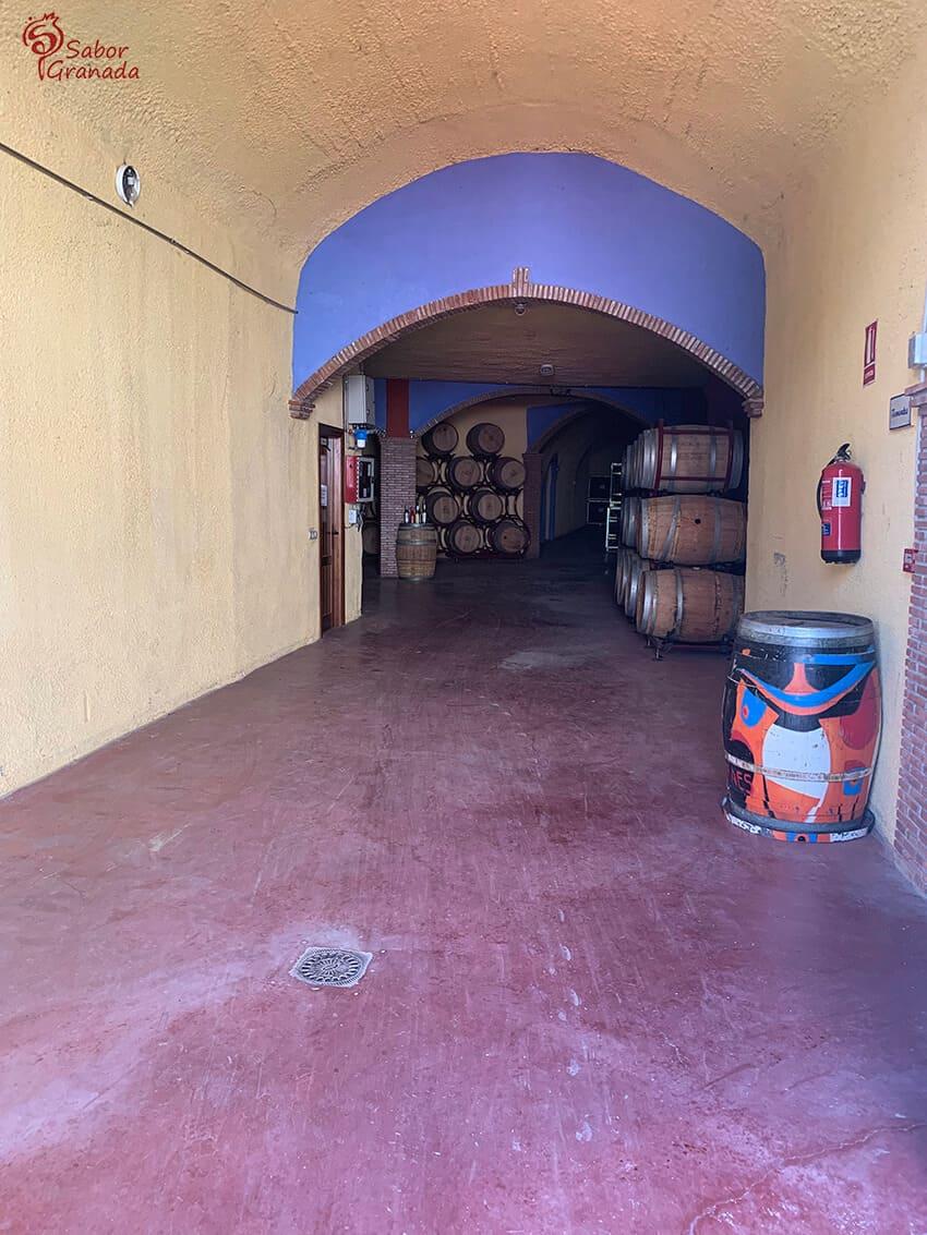 Pasillo Interior de Pago de Almaraes - Sabor Granada