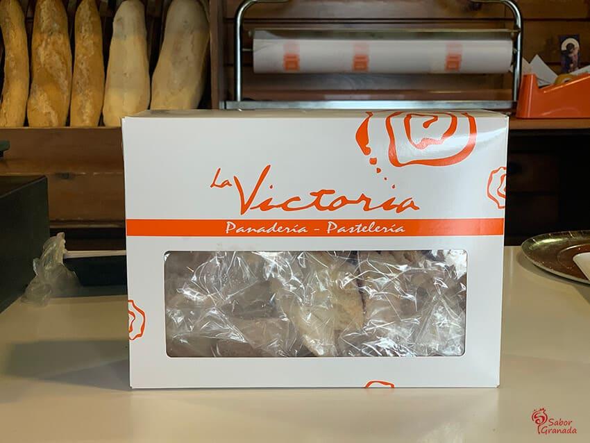 Envase de tostas de Panadería La Victoria - Sabor Granada