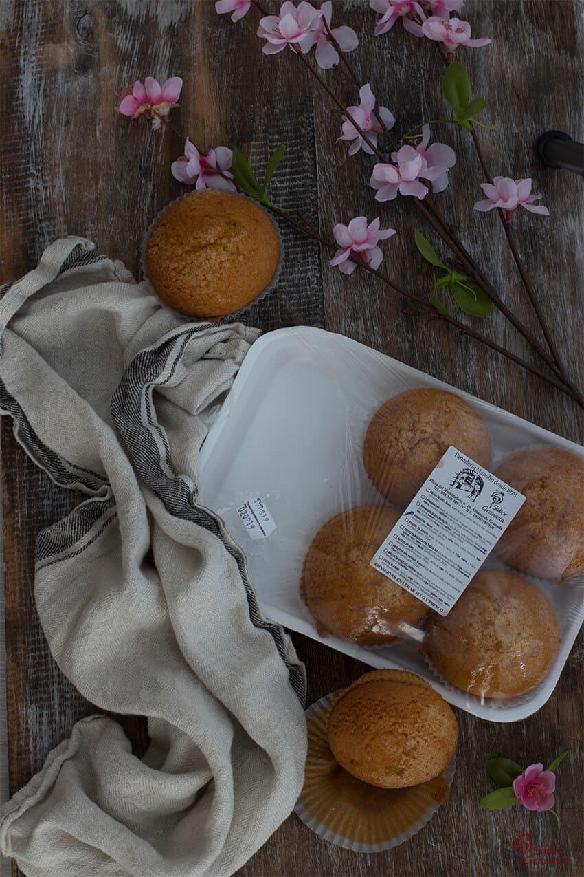 Magdalenas de Panadería Manolín - Sabor Granada