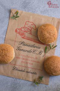 Panes de hamburguesa de Panadería Gerardo - Sabor Granada