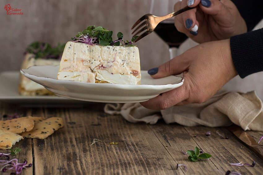 Pastel de Queso salado - Sabor Granada