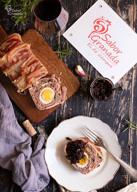 Receta de pastel de carne con productos de Granada - Sabor Granada