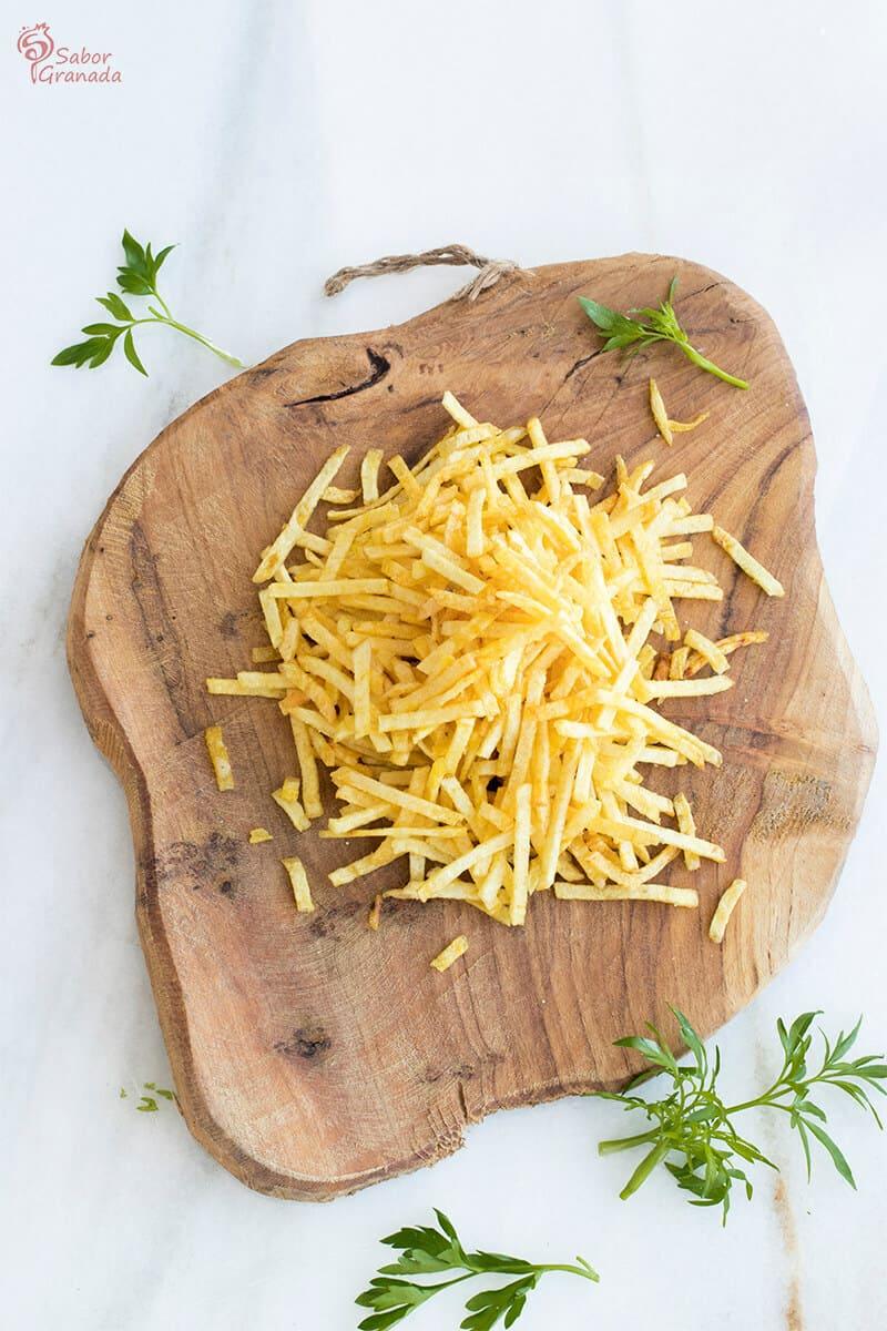 Patatas frita de paja Peñagallo - Sabor Granada