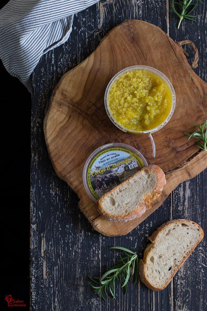 Perlas de queso El aserradero - Sabor Granada